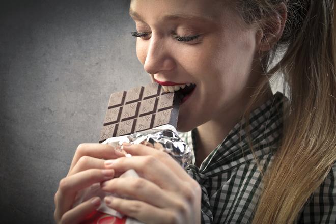Шоколад - лекарство от плохого настроения.
