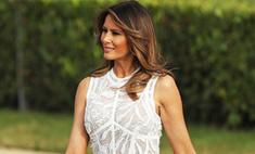 Мелания Трамп показала идеальное «голое» платье