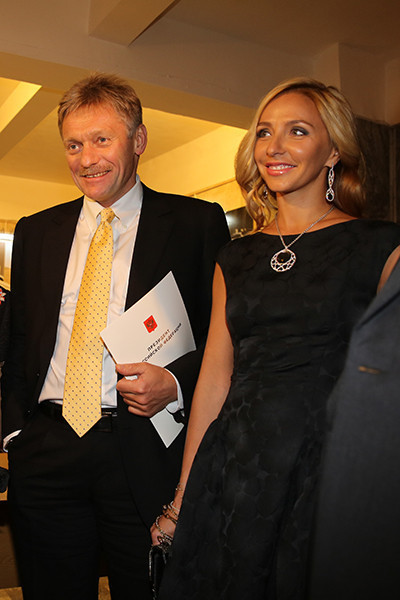 Дмитрий Песков и Татьяна Навка фото