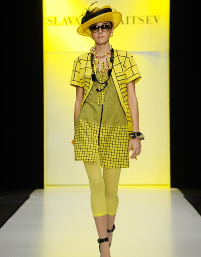 Mercedes-Benz Fashion Week: Slava Zaitcev, весна-лето 2012