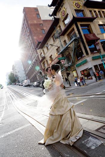 Свадебное фото Ann Hamilton.