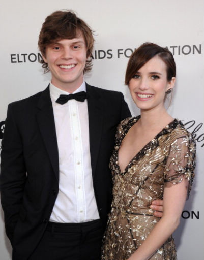 Эмма Робертс (Emma Roberts) и Эван Петерс (Evan Peters)