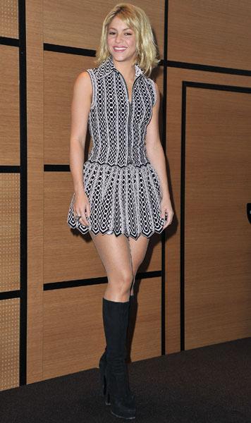 Шакира, 2012 год
