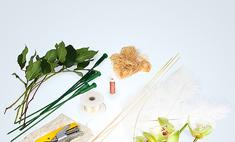 Букет невесты с орхидеями: мастер-класс