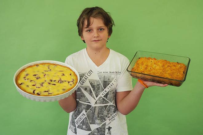 Кирилл Степаницын, участник кастинга «МастерШеф. Дети», фото