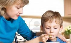 Дети охотнее едят из тарелки с разнообразной едой