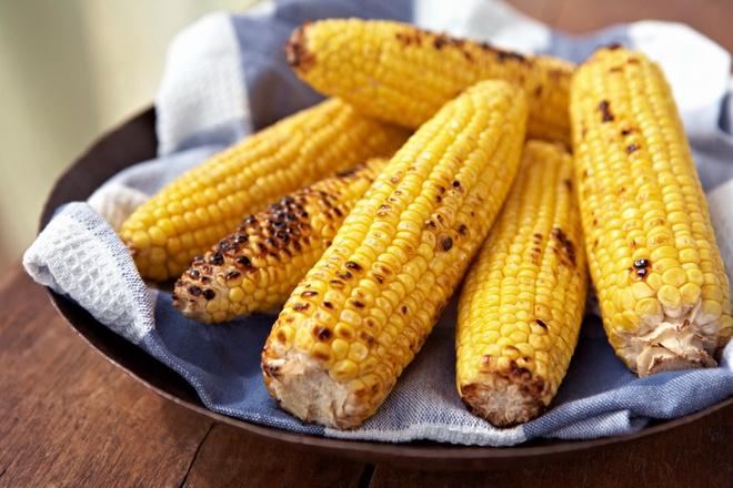 кукуруза жареная в початке