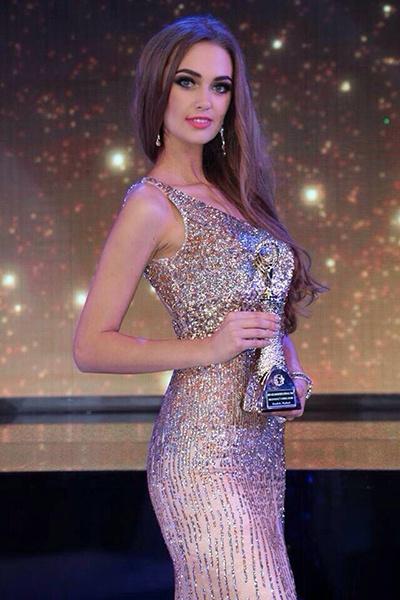 Яна Дубник, финалистка Miss Grand International