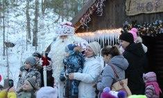 В Красноярске побывал Дед Мороз из Великого Устюга