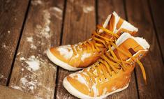 Правильный уход за обувью: удаляем соляные разводы