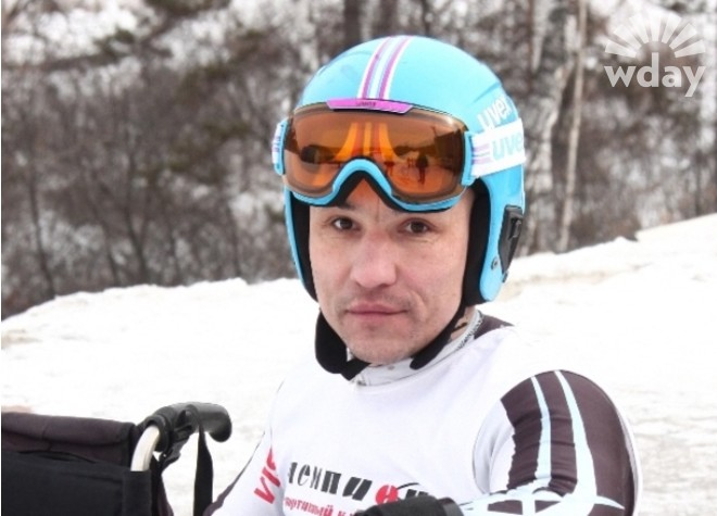 Николай Шувалов - горнолыжник-паралимпиец