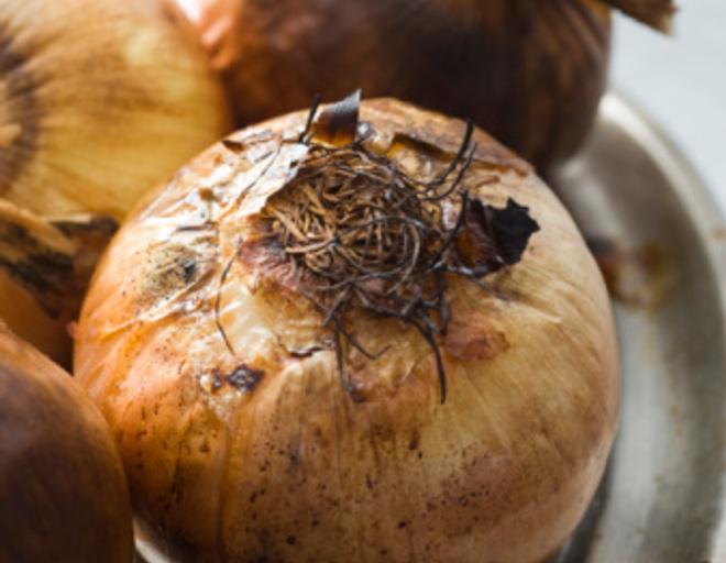 печеный лук рецепт