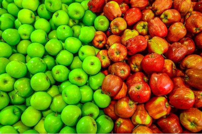 Сладкие и сочные сорта яблок