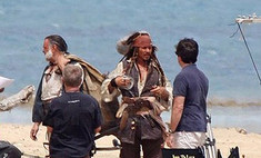 Джонни Депп приступил к съемкам в четвертой части «Пиратов Карибского моря»