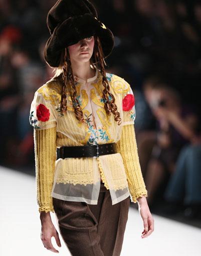 Показ коллекции Татьяны Парфеновой осень-зима 2013/14 на Mercedes-Benz Fashion Week Russia