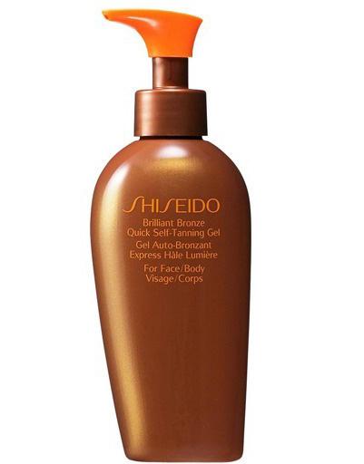 Гель-автозагар для лица и тела ускоренного действия Brilliant Bronze Quick Self-Tanning Gel, Shiseido