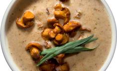 Крем-суп из лисичек (kantarellikeitto)