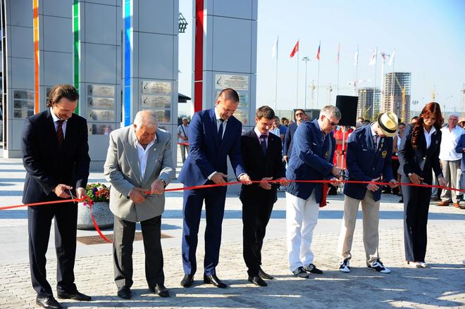 Церемония открытия Аллеи олимпийской славы в Красноярске
