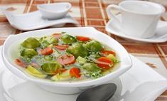 Чечевица и брюссельская капуста: варим суп