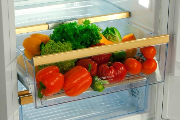 системы hydrofresh и chiller надолго сохранят свежесть продуктов