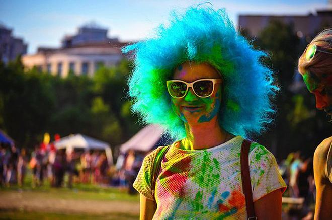 Фестиваль красок «Холи Фест-2016», фото
