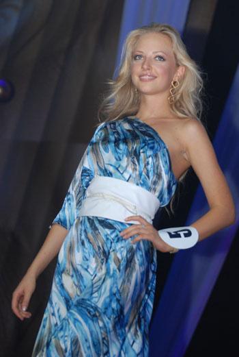 Елизавета Бразис, участница конкурса, ведущая Муз-TV