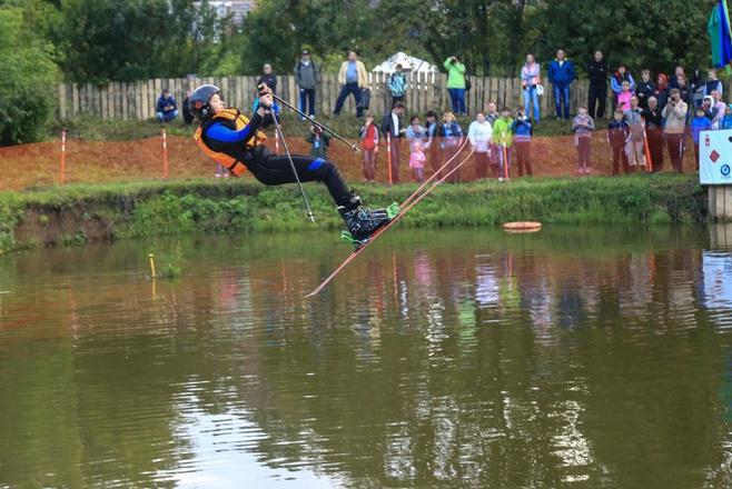 Летние соревнования по фристайлу в Чусовом
