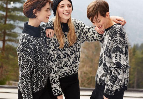 Коллекция свитеров Benetton зима-2014