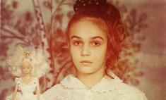 Алена Водонаева показала свои детские фотографии