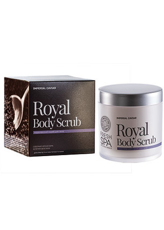 Caviar 400ml Royal body scrub