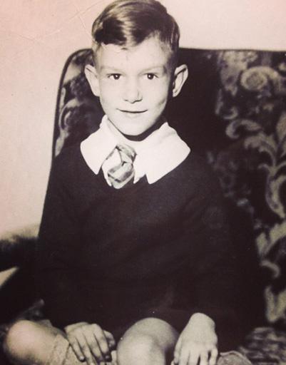 Хью Хефнер в детстве
