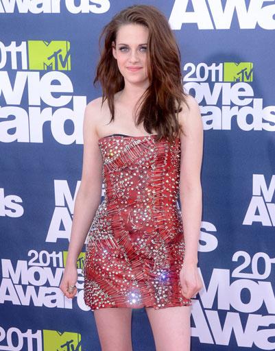 Кристен Стюарт (Kristen Stewart) на церемонии вручения премии MTV Movie Awards 2011