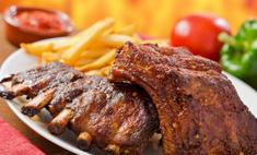 Свиные ребрышки по-баварски: рецепт