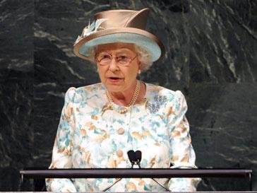 Елизавета выступает в ООН