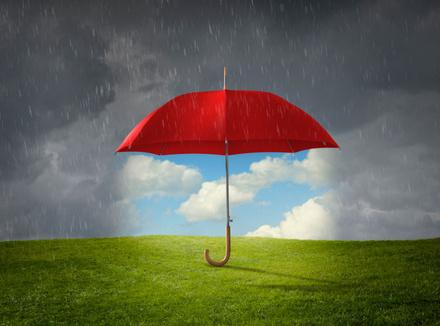 Хорошая погода под зонтом