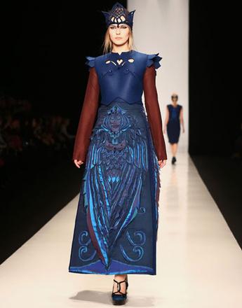 Показ коллекции Bunker Z осень-зима 2013/14 на Mercedes-Benz Fashion Week Russia