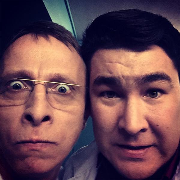 Азамат Мусагалиев, Иван Охлобыстин