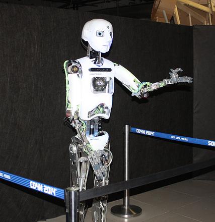 """Робот Теспиан, """"Бал роботов"""""""