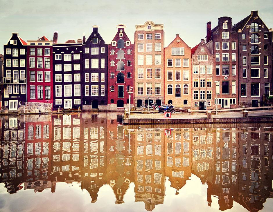 Амстердам, Голландия самые безопасные города мира