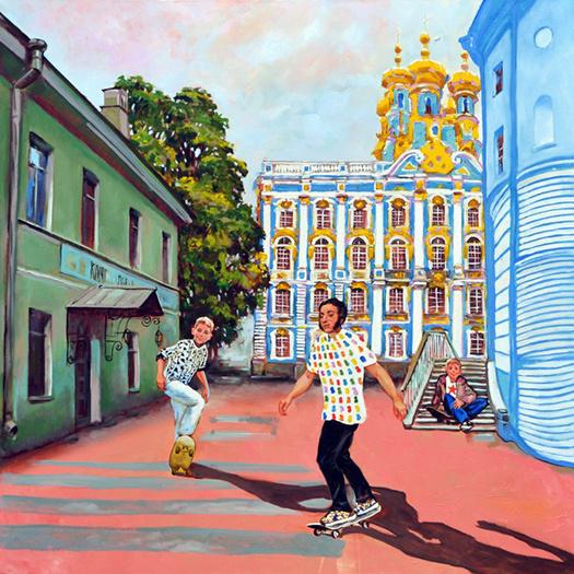Алексей Сергиенко выставка Новый Пушкин: Жизнь Пушкина в 21 веке покажут на выставке в Петербурге