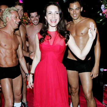После успеха в сериале «Секс в большом городе» Кристин Дэвис может выгуливать не только собачек, но и мужчин.