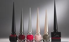 Кристиан Лабутен выпустил коллекцию лаков для ногтей