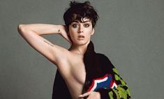 Кэти Перри снялась обнаженной для рекламы Moschino