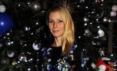 Гвинет Пэлтроу слилась с новогодней елкой