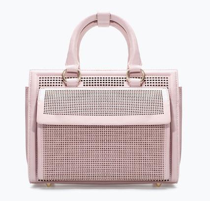 сумка-портфель с перфорацией