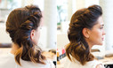 Видео как сделать прическу с длинных волос в домашних условиях