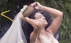 Зачем Моника Беллуччи примерила свадебное платье?