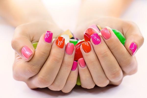 Ногти красить видео