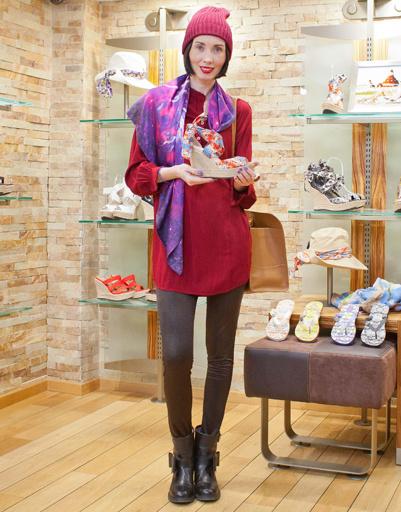 Мария Железнякова на презентации коллекции весна-лето 2012 UGG Australia