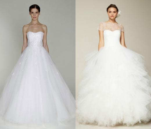 Свадебные платья: 7 лучших силуэтов | Мода на Elle.ru